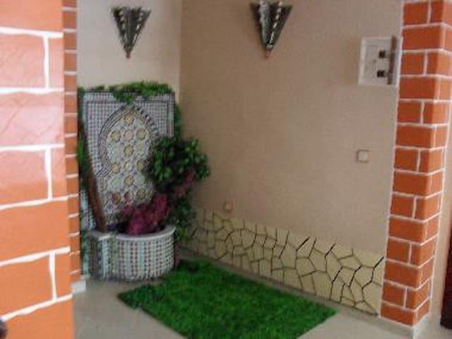 Appartement parfait pour les vacances en sécurité - Témara - Apartment