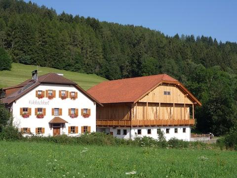sehr ruhige Wohnung auf dem Bauernhof