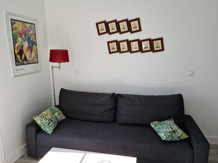 Appartement 2 pièces centre ville de Dinan
