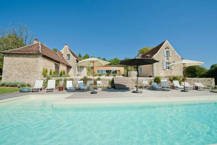 French luxury chic farmhouse