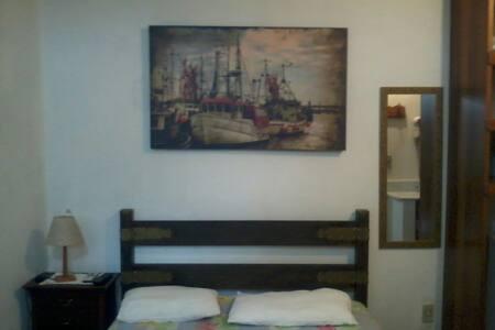 Suite completa a 40 metros da praia - 圣保罗 - 公寓