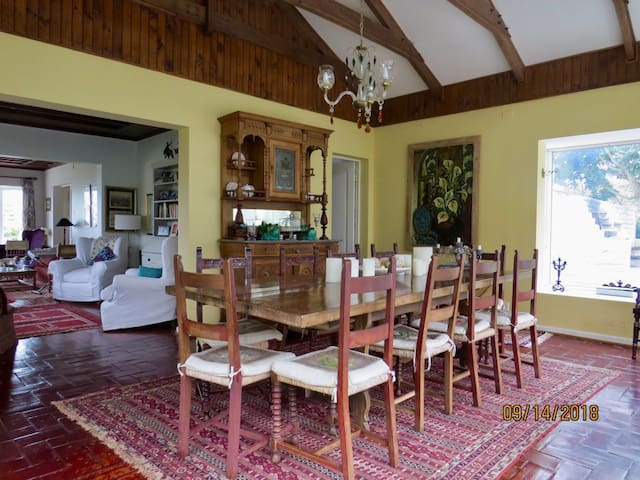 Spacious summer house and family rest.