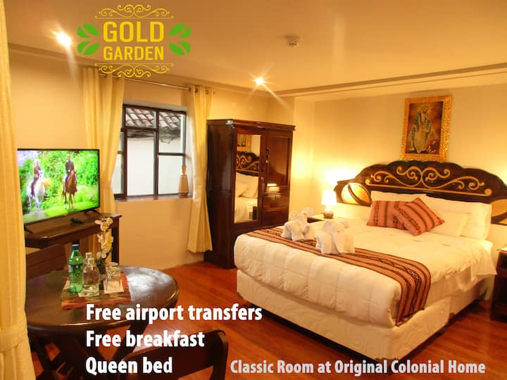 Hotel Boutique Gold Garden - Classic Room