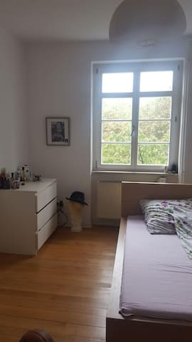 A bright cosy Room