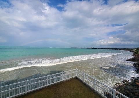 Amazing and unique beach view