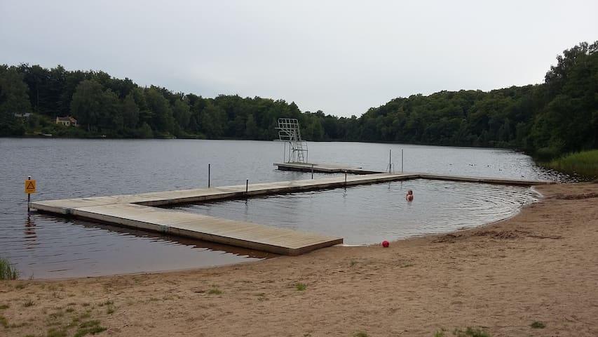 bekväm och trivsam boendet nära sjöar - Hässleholm NV - อพาร์ทเมนท์