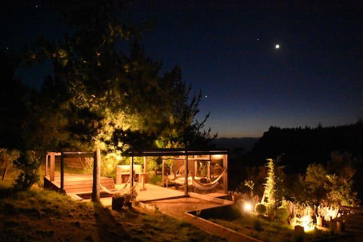 Casa Nalca Puertecillo (hottub/piscina temperada)