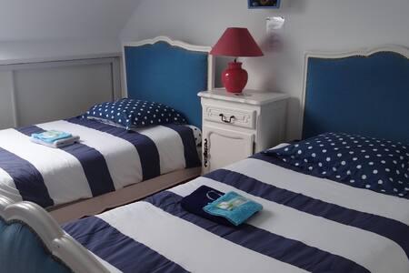 chambre lits jumeaux pour 2 personnes