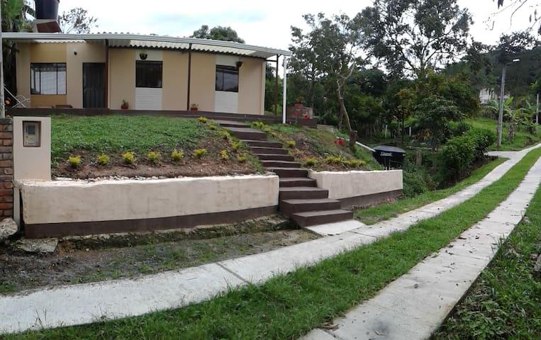 CABAÑA CAMPESTRE CONDOMINIO FAMILIAR - Moniquirá - Cabin