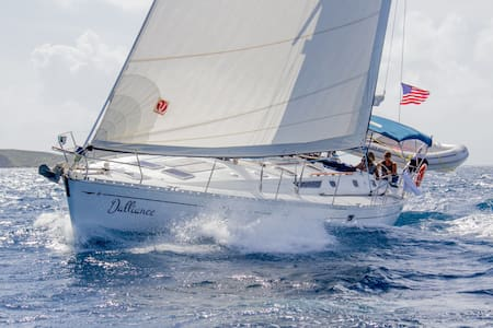 Welcome to Dalliance, 50' sailboat - St. Thomas