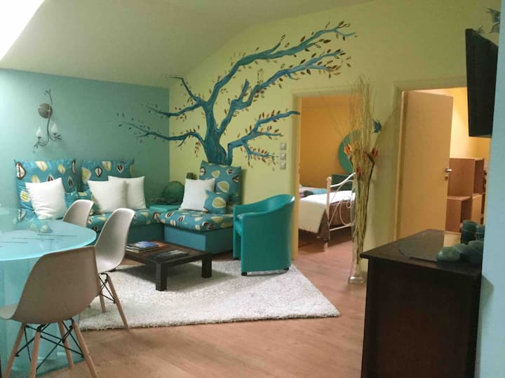 Two Bedroom Loft Suite in Central Gythio.