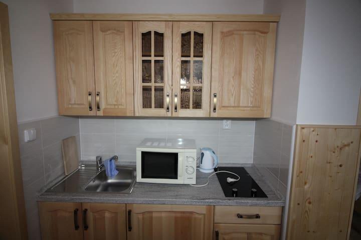 Apartmán č. 3-kuchyně