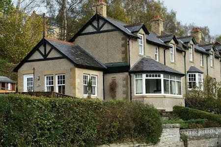 Idyllic Riverside Cottage - Rothbury - 小屋