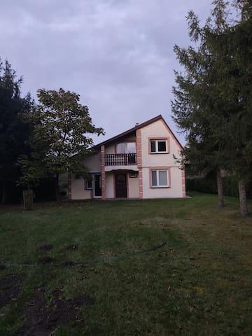Dom z ogrodem w Sędziszowie Małopolskim