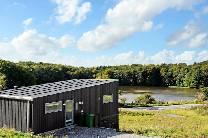 Tranquil Holiday Home in Aabenraa with Lake View