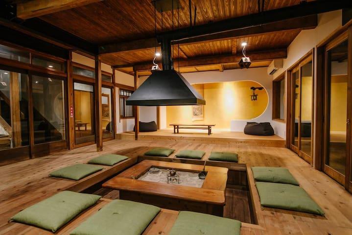 囲炉裏ゲストハウス天幕 スタンダード ツインルーム