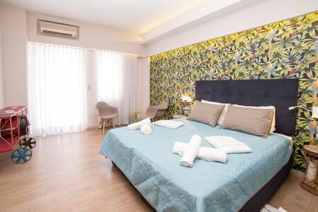 Jungle - Stylish Studio in the City Center - Rethymno - Daire