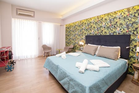 Jungle - Stylish Studio in the City Center - Rethymno