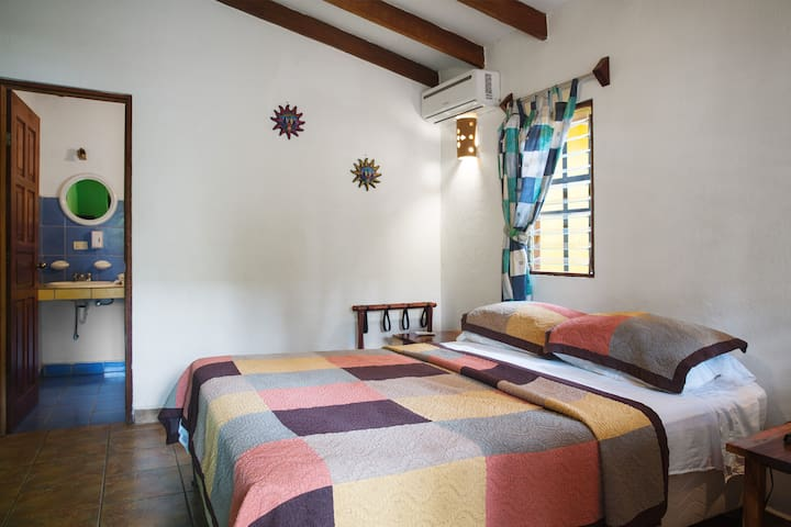 Villas Macondo Classic  AC room-  near the beach