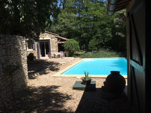 Sunny Country House with Pool Saint Mediers