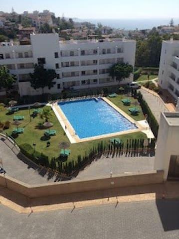 Apartment mit Meerblick Mijas Costa - Mijas