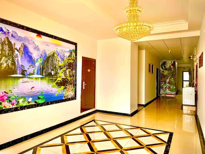 金沙滩  、37度梦幻海、德胜彩云城现代简约一居公寓8888