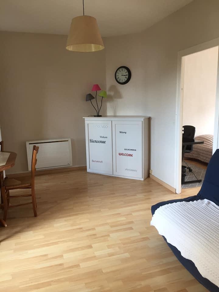 Appartement 2 PIÈCES  Espace de travail - WIFI
