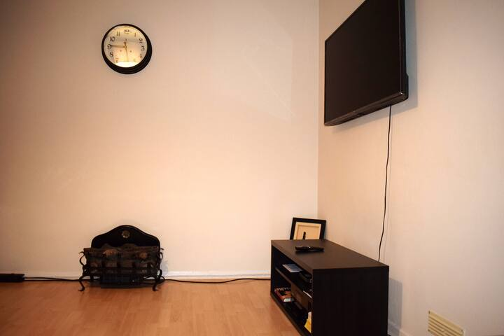 Garden City experience in a 2 bed maisonette