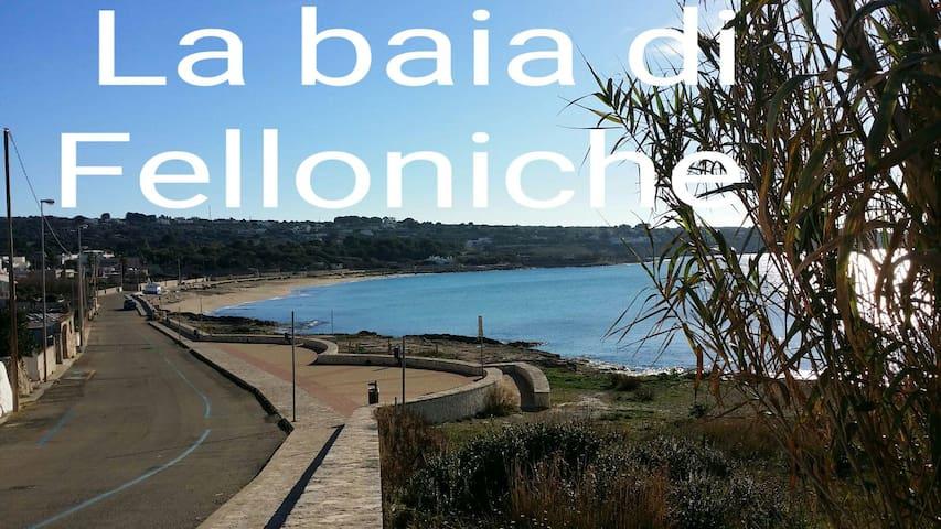 Bilocale nella marina di Felloniche - Provincia di Lecce - Flat