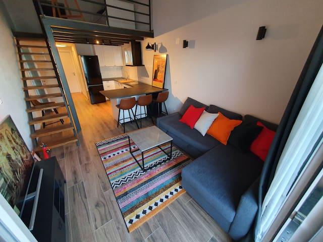 Duplex apartment Hakuna Matata, free P, WiFi, AC