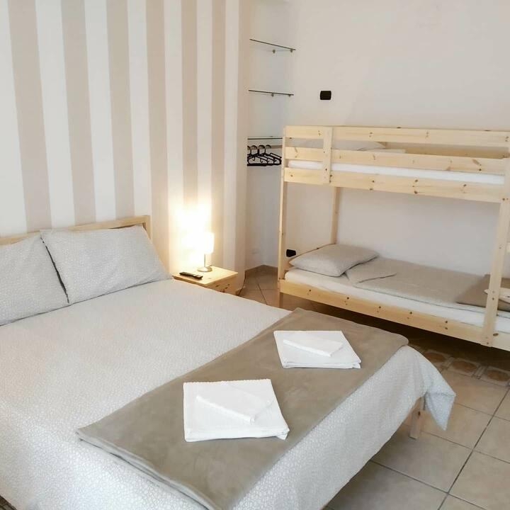 Atelier bed&bed quadrupla con bagno privato 3
