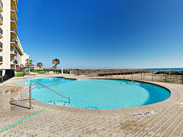 Take a dip in the sparkling oceanfront pool. This condo is professionally managed by TurnKey Vacation Rentals.