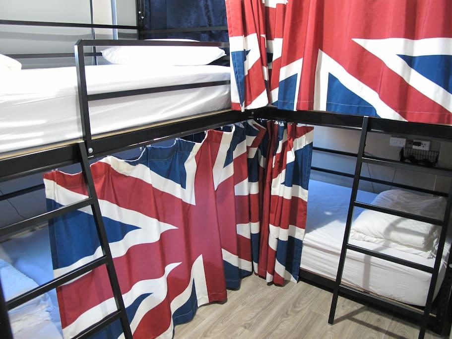 6人背包房6 bed mixed dorm