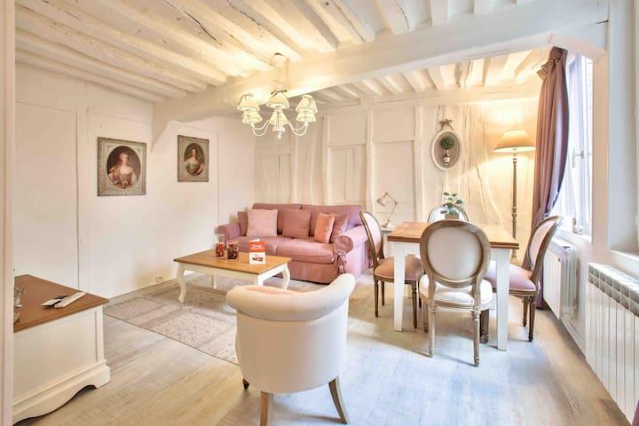 Poco ángel, corazón de Rouen encantador apartament