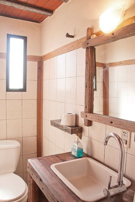 Yes, we have bathrooms - you can poop here!