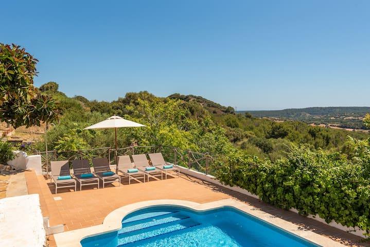 Finca Bella Mirada -views with private pool