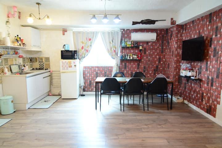 동대문 야시장,동묘시장,청계천 근처 취사가능한 독립형 가족안심숙소 최대4인 숙소