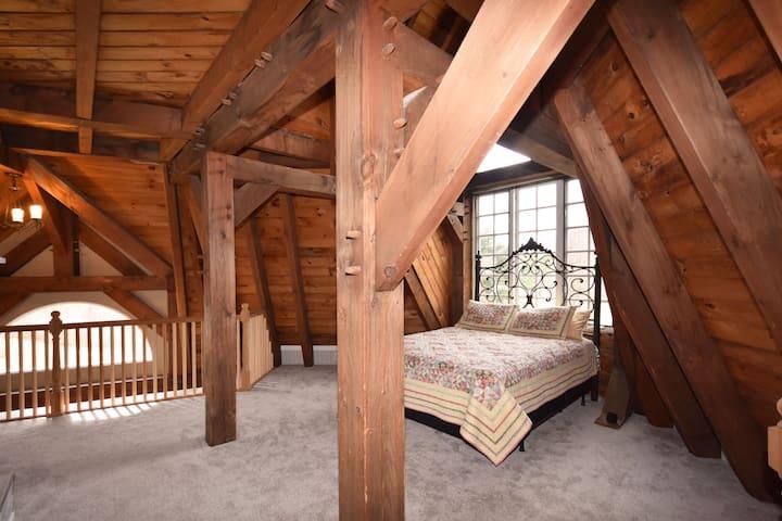 Bedroom #3: Master - Queen. 2nd floor.