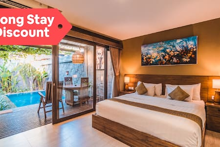 Villa w/ Stylish Room, Pool & Long Stay Discount