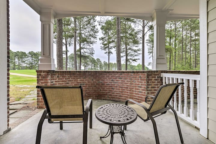 Spring Lake, Resort Condo w/ Golf Course View!
