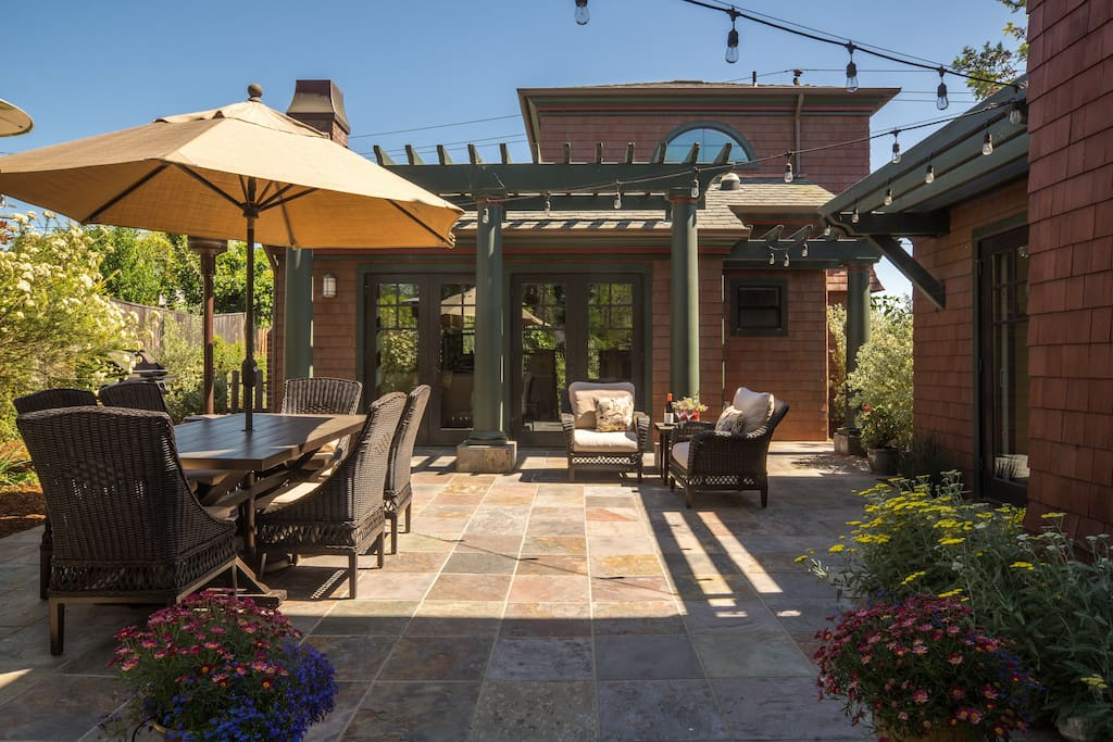Private outdoor living area