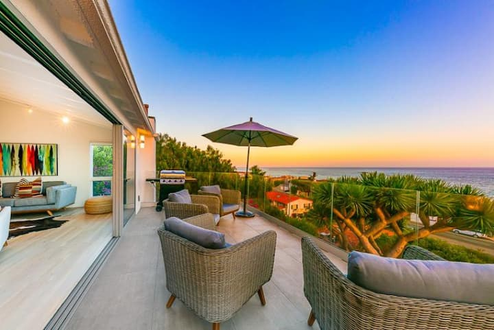20% OFF OCT! Spectacular Ocean View Home w/ Outdoor Living, Spa + A/C