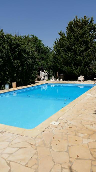 Farm House Swimming Pool And Garden In Ayioi Trimithias