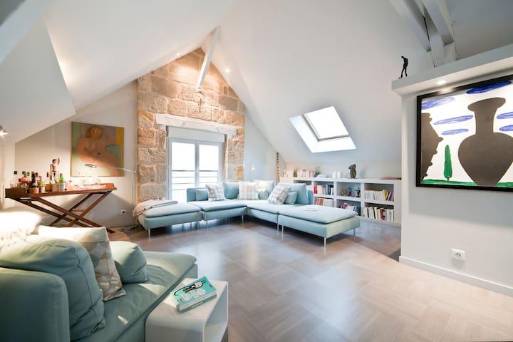 Appart esprit loft centre BRIVE - Brive-la-Gaillarde - Byt