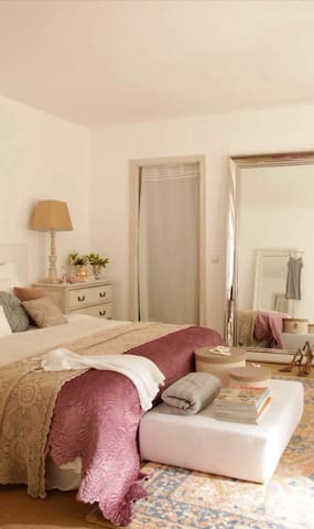 Garden House, habitación suite con terraza