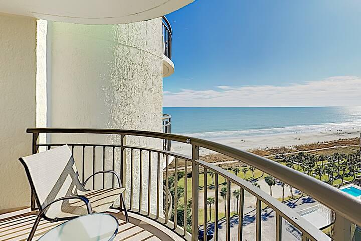 New Listing! Beachside Condo w/ Hot Tub & Pools