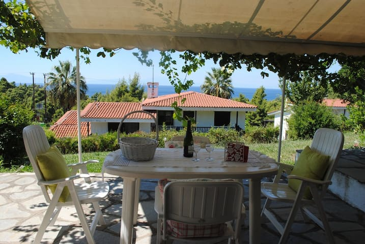 Relax near the sea and forest of Elani, Halkidiki - Siviri - Appartement