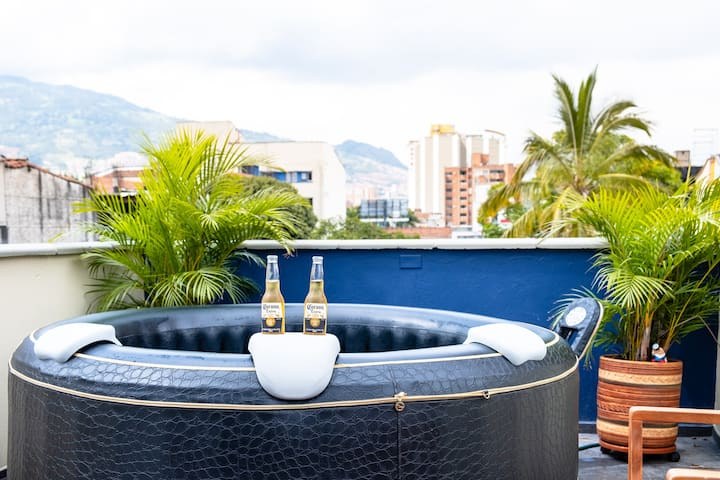 Mountain Views - Rooftop Jacuzzi - Laureles - #1
