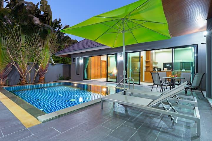 具有设计感独立泳池别墅➰3卧室➰奈涵