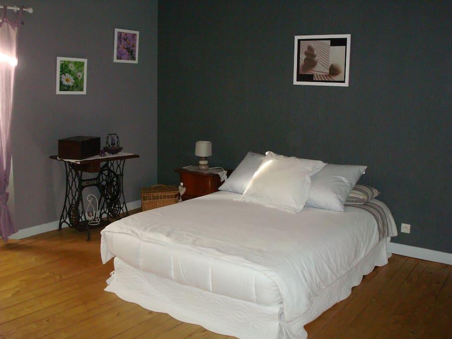 Chambre 2 ( lit de 140)